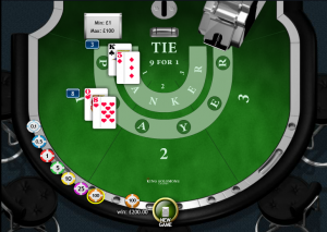 Progressiv jackpot i baccarat finnes hos Playtech casinoer.