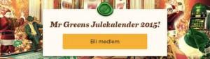 Mr Green julekalender front